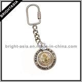 Key di filatura Ring con Printed Logo Sia Side (BYH-10673)