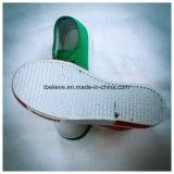 Цветастый кожаный ботинок с шнурком ботинка и подошвой PVC