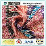 30d Satin стиль печати шифон ткани для юбки
