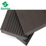 Suelo impermeable de Eco con el suelo de bambú tejido hilo