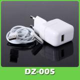 Настенное зарядное устройство USB адаптер + дата кабель для iPhone/iPad (DZ-005)