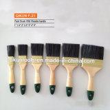 F-33 Hardware decorar pintar herramientas de mano de mango de madera pintadas de pincel de cerda