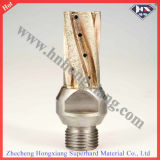 Sintere Diamond Milling Cutter per Glass Drilling