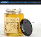 Eco-Friendly шестиугольное стеклоизделие опарника варенья меда с Multi-Size