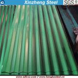Feuille en acier enduite d'une première couche de peinture /PPGI de toiture d'Aluzinc galvanisé couvrant la feuille