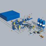 フルオートマチックの煉瓦機械生産工場