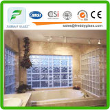 Bleu / Vert / Clair Diamond Patterned Glass Block / Brick Glass for Decoration
