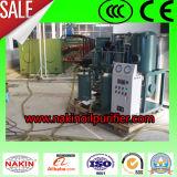 Simplicité de fonctionnement entièrement automatique purificateur d'huile de lubrification de la machine vide
