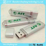 Azionamento di plastica della penna del USB approvato Ce con il marchio su ordinazione (ZYF1234)