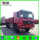 6X4 mano izquierda conducción 371HP HOWO volquete Camión volquete