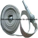 Reforzado con Fibra de PU de alta resistencia manguera contra incendios