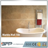Плитка стены 100% естественная Cream бежевая нутряная мраморный для ванной комнаты