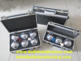 Vender el Metal Petanca la petanca Set Juego de Pelota deporte al aire libre la pelota con caja de aluminio de alta calidad
