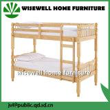 Белый цвет твердых сосновой школы двухъярусная кровать мебель