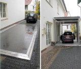見えない地下の二重デッキ車の上昇を切りなさい