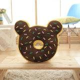 Relleno suave cookie en forma de almohada para niños