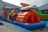 Pendel Pland die Cursus van de Hindernis van de Spelen van de Sport van het Kasteel Bouncy de Opblaasbare springen