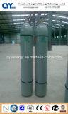 Cilindro de alta pressão do aço sem emenda de dióxido de carbono do nitrogênio do oxigênio do argônio da alta qualidade 50L