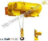 Fábrica de profesionales de la grúa eléctrica tipo chino altura baja polipasto de cable eléctrico