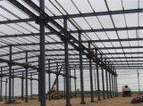 Atelier industriel léger préfabriqué de structure métallique de bâti portique (KXD-63)