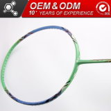 Sharp 100à tête carrée verte Sporting Goods raquettes de badminton