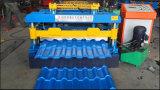 機械を形作る中国の製造者の金属の屋根シートのタイルロール
