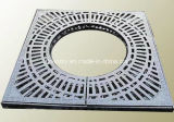 Size su ordinazione Cast Iron Grill Sewer Grates per Carriageway o Pathway En124