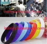 Appuyez sur bracelet en caoutchouc silicone vulcanisation Making Machine