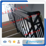 Подгонянные/Railing лестницы изогнутые экстерьером перила лестницы ковки чугуна