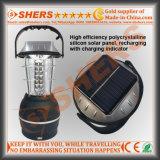 Luz que acampa solar portátil con Dynamo, Manilla, Hook, USB (SH-1992)