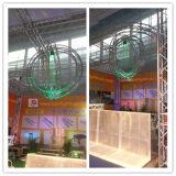 Система рамки знамени ферменной конструкции напольного освещения случая алюминиевая