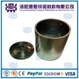99,95% de alta densidad y temperatura de tungsteno pulido Crisol / Crisoles / W Crisoles de precios de la tierra rara del horno de fundición