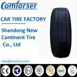 Certificación Semi radial de acero del neumático del coche de DOT 215 / 75R15
