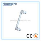 Roomeye moderno Design à prova de som do vidro corrediço de porta de vidro duplo de alumínio