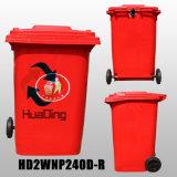 scomparto esterno di plastica 240L dalla Cina