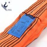 Imbracatura rotonda infinita della tessitura del poliestere del W.L.L. 10t