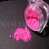 装飾的なガラス効果は粉に彩色する