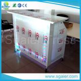 Легкое Assembled Portable Folding Bar с тормозными колесами, Lighted Bar Counter, Movable Bar