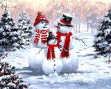 2017 het Hete Schilderen van de Decoratie van Kerstmis van de Verkoop, de Gift van Kerstmis door Aantallen