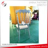 Китайский отель производства Тиффани металлические свадьбы Наполеона стул (291)