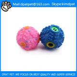 Bola de goma del juguete del animal doméstico