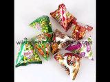 Máquina de empacotamento automática granulada do alimento do triângulo