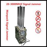 2015 neuer leistungsfähiger VHF/UHF beweglicher Hemmer-Rucksack-Hemmer-Militär-Hemmer