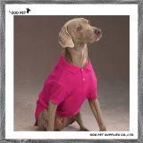 Camiseta básica del perro de las camisas de polo del perro con el orificio Spt6007-5 del correo