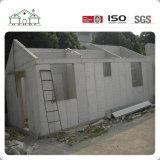 Pequeña casa prefabricada del edificio casero de la estructura de acero