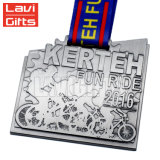 卸し売り習慣5K Janpanesの金の印刷亜鉛合金の半分のマラソンのスポーツメダル