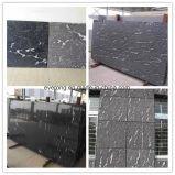 Het natuurlijke Grijze Graniet van de Sneeuw van de Mist van China van de Tegel van de Muur van de Steen Buiten Straal Zwarte voor Bekleding/het Behandelen