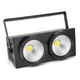 DMX 2X100W weißes Farbe PFEILER LED Publikums-Blinder-Matrix-Stadiums-Licht