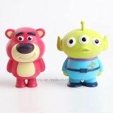 Mini figura brinquedos do PVC do personagem de banda desenhada