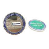 Moneta antica del metallo dell'oro placcata oro su ordinazione per il regalo del ricordo di promozione (CO08-C)